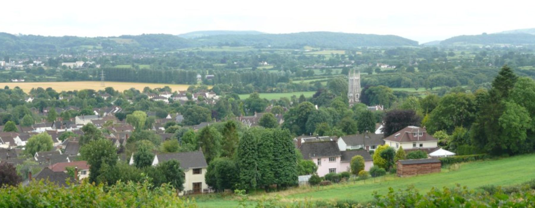 View of Wrington