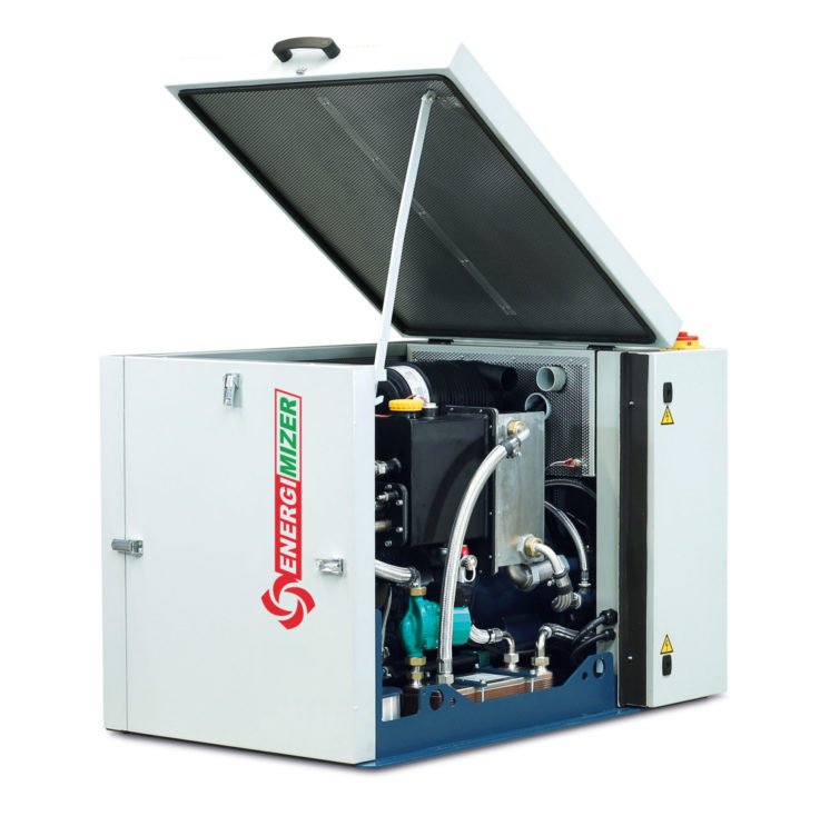 Energimizer CHP 7.5 Plant