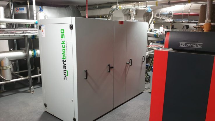 CHP T Store and boiler